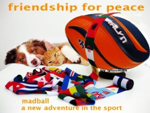 a new adventure in the sport  friendship for peace